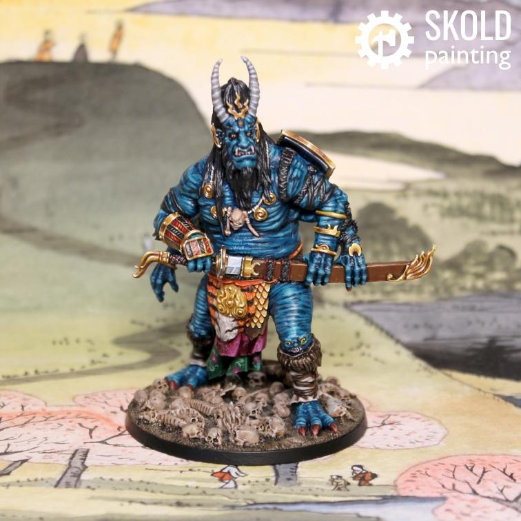 Oni of skulls