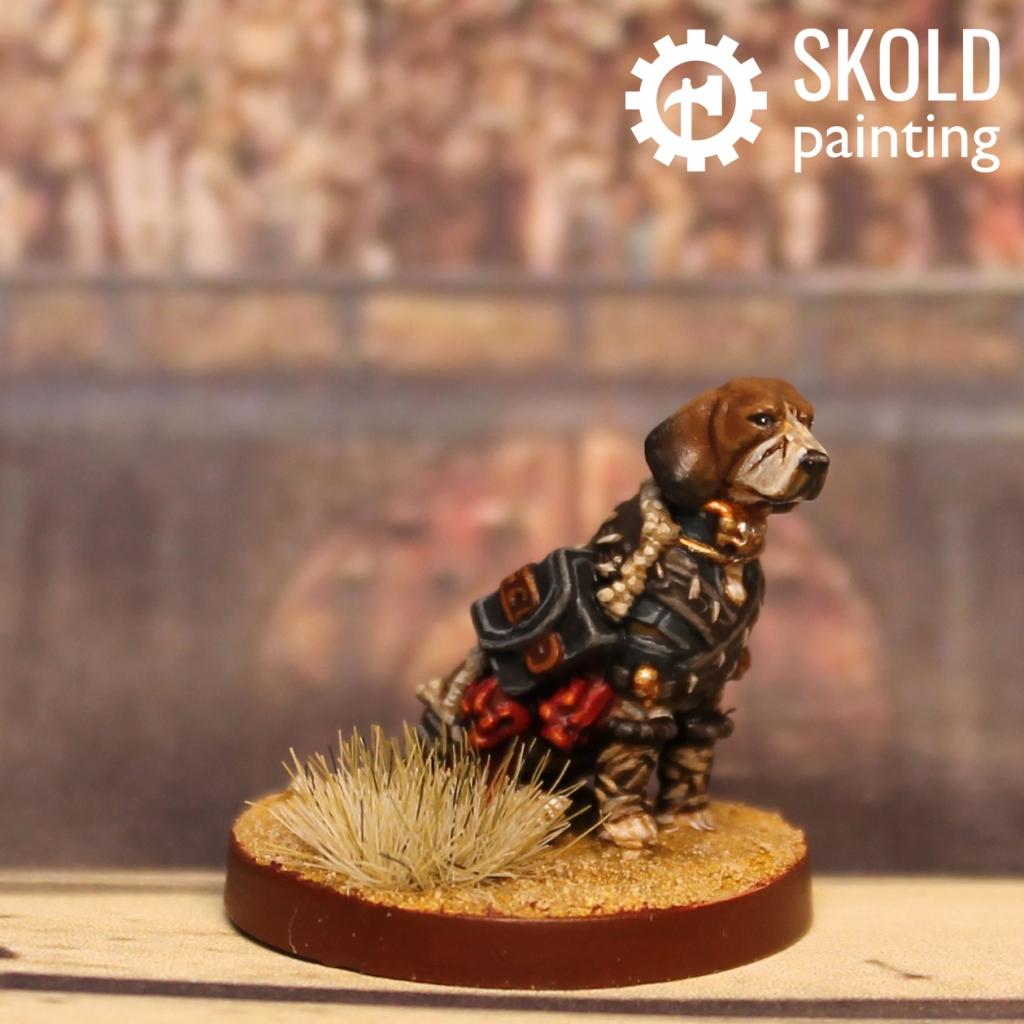 Svetlana the Beagle Barbarian