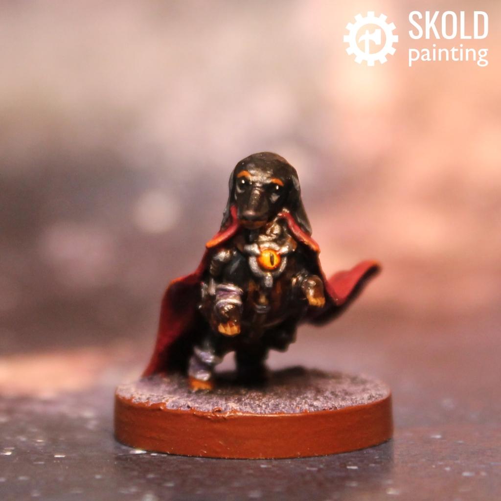Morgaine the Daschund Sorcerer