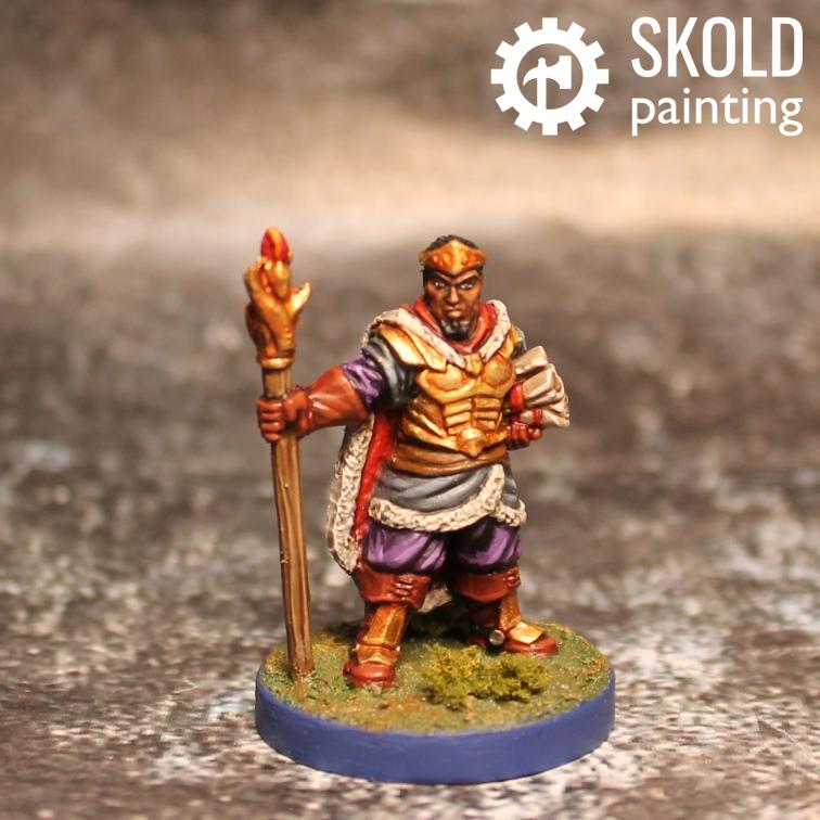 Prince Orn, human mage