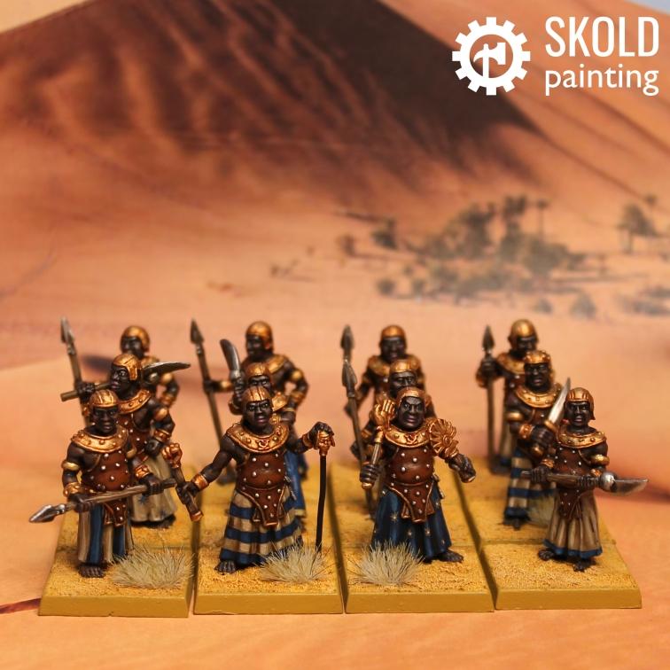 Nubian harem guards